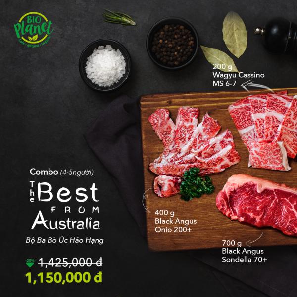 Bộ Ba Bò Úc